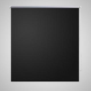 Verdunkelungsrollo Verdunklungsrollo 100 x 175 cm schwarz