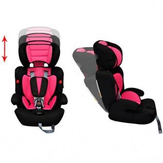Auto-Kindersitz Kindersitz rosa - Vorschau 4