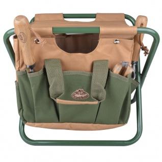 Esschert Design Gartengeräte-Tasche und Sitz GT01