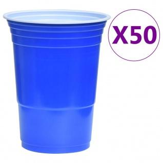 vidaXL Beer-Pong Set 0, 5 L Kunststoff - Vorschau 3