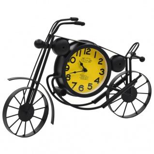 vidaXL Uhr Beidseitig Motorrad Nostalgie