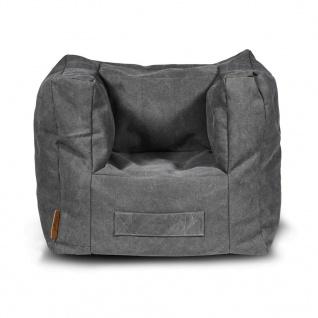 Jollein Sitzsack 46 x 40 x 37 cm Grau 028-543-65059