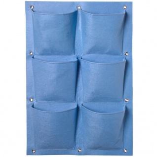 Nature Pflanztasche mit 6 Taschen Blau 6020257