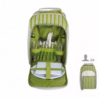 Esschert Design Picknick-Kühltasche für 2 Personen Gestreift EL054