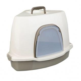 TRIXIE Ecktoilette für Katzen Alvaro 55x42x42 cm Creme 40357