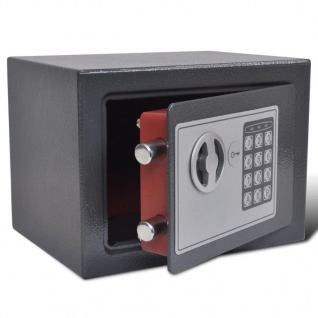 Elektronischer Safe Tresor Dokumententresor 23 x 17 x 17 cm