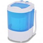vidaXL Mini-Waschmaschine mit Schleuder und 1 Kammer 2, 6 kg