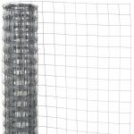 Nature Maschendraht Viereckgeflecht Grau 0, 5 x 2, 5 m 6050250