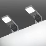 vidaXL Spiegelleuchten 2 Stk. 2 W Kaltweiß