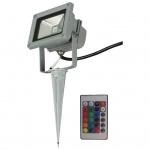 Luxform LED-Garten-Flutlicht Ceres mit Fernbedienung 230 V