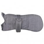 TRIXIE Wintermantel für Hunde Brest Größe S 35 cm Grau 67812