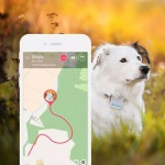 Tractive GPS Haustier-Tracker Weiß TRATR1