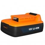 FERM Batterie 18 V 1, 5 Ah Li-ion CDA1077S