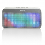 Lenco Tragbarer Bluetooth Stereo Lautsprecher BT-200 Light Grau