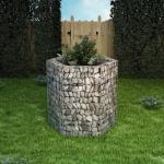 vidaXL Gabionen-Pflanztopf Sechseckig 100×90×100 cm