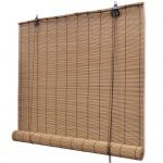 Braunes Bambusrollo 120 x 220 cm