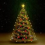 vidaXL Weihnachtsbaum Lichternetz 180 LEDs Indoor/Outdoor IP44 180 cm