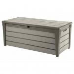 Keter Garten-Aufbewahrungsbox Brushwood 455 L Taupe 228855