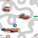 Kids at Home Tapete Cars Racetrack Mehrfarbig DF72599