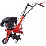 vidaXL Benzin Gartenfräse 5 PS 2, 8 kW Rot