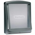 PetSafe 2-Wege-Haustierklappe 777 Groß 35, 6x30, 5 cm Silber 5025