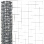 Nature Maschendraht Viereckgeflecht Grau 1 x 2, 5 m 6050254