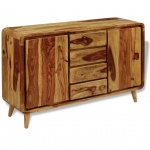 vidaXL Sideboard Sheesham Holz 140×40×87 cm