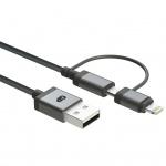 GP USB-A zu Lightning- & Micro-USB Kabel CB03 15 cm 160GPCB03C1