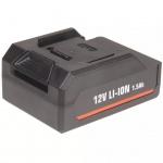 FERM Batterie Kunststoff 12 V Li-Ion CDA1085
