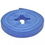 vidaXL Wasser-Flachschlauch 25 m 1 Zoll PVC