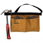 Toolpack Werkzeuggürtel mit Doppel-Tasche Universal Leder 366.030