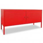 vidaXL TV-Schrank 118 x 40 x 60 cm Rot