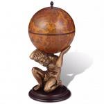 vidaXL Globus-Bar Atlas 42×42×85 cm