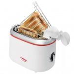Bestron ATM200RE Sandwichtoaster mit 2 Toast-Halterungen