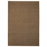 vidaXL Webteppich Sisal-Optik Indoor/Outdoor 80 x 150 cm Braun