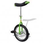 Einstellbares Einrad 40, 7 cm grün