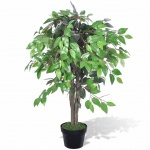 Künstlicher Ficus mit Topf 90 cm