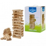 OUTDOOR PLAY Holz Stapelturm Wackelturm