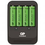 GP Akku-Ladegerät PB570 mit 4 Batterien 130570GS270AAHCBC4