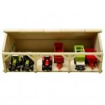 Kids Globe Traktor-Schuppen Groß 1:87 610491