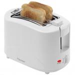 Bestron Toaster mit Brötchenwärmer AYT600 750 W Weiß