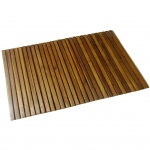 Badematte aus Akazienholz 80 x 50 cm