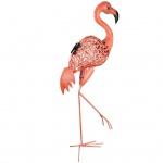 Luxform Solar-LED Deko-Gartenleuchte Flamingo Rosa 30111