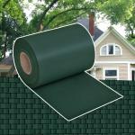 Sichtschutz Zaunabdeckung PVC Grün 70 x 0, 19 m