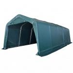 vidaXL Weidezelt PVC 550 g/m² 3, 3 x 8 m Dunkelgrün