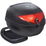 vidaXL Motorradkoffer 36 L für einen Helm