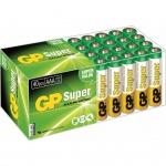 GP Super AAA-Alkalibatterien 40 Stk. 1, 5 V 03024AB40