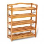 Schuhregal 5 Etagen Holz