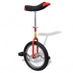 Einstellbares Einrad 40, 7 cm rot