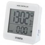 Cresta Digitaler Quarzwecker BLA210 Weiß 24070.01
